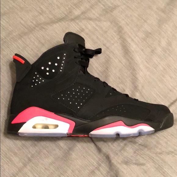 593892c23abb Deadstock Jordan Retro 6 Black Infrared